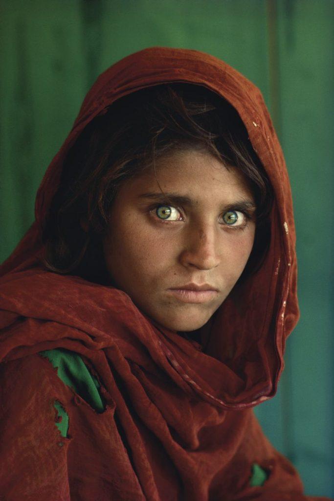 Gemaakt door bekende fotograaf Steve McCurry